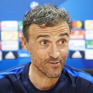 Luis Enrique Barça Champions League Efe