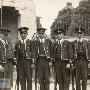 El govern Companys restaura el cos dels Mossos d'Esquadra. Font Arxiu Historic Mossos d'Esquadra (1)
