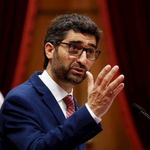 El vicepresidente de la Generalitat , Jordi Puigneró Efe