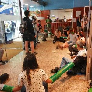 Rebel·lió o Extinció Barcelona protesta