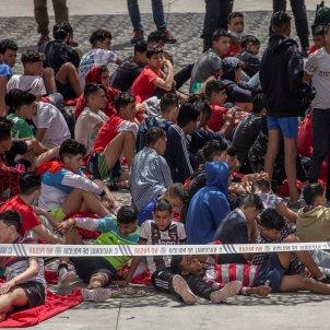 el tarajal ceuta marroc crisi migratoria menors migrants efe