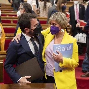 Alba Vergés y Pere Aragonés / ACN