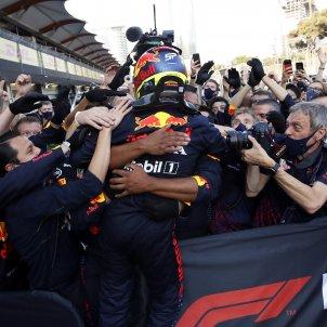 Sergio Perez Red Bull EFE