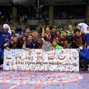 Barca balonmano Copa Asobal EFE