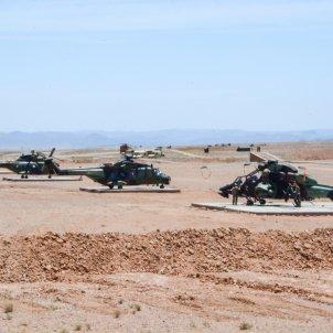 Helicopteros del ejercito marruecos - @FAR_MAROC