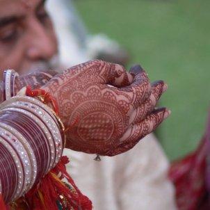 Boda India hindú / Flickr