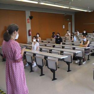 Pruebas PAU 2021 Selectividad URV Tarragona ACN