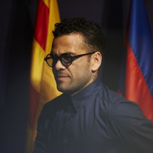 Dani Alves roda premsa Barça Juventus EFE