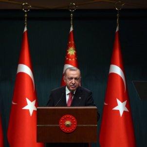Erdogan roda de premsa / Europa Press