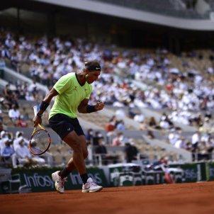Rafa Nadal celebra Roland Garros EFE