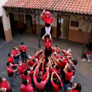 Castellers Colla Joves Xqieuts de valls ACN / Mar Rovira
