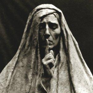 Silence par le sculpteur Alix Marquet 1921