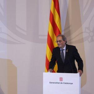 Quim Torra Presentación conclusiones Grup de Treball Catalunya 2022 Sergi Alcàzar