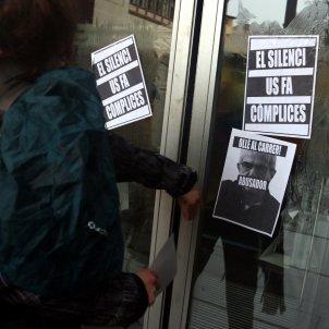 protesta alumnos Intsitut del Teatre por casos acoso sexula ACN