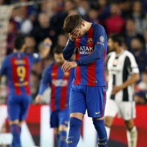 Pique Juve Barça Camp Nou EFE