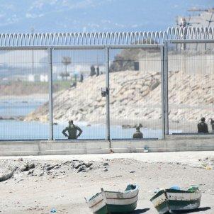 Europa Press agentes  marruecos ceuta el tarajal frontera