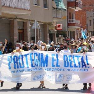 protesta ecologistas prat de llobregat ampliación aeropuerto acn