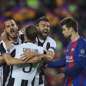 Juventus celebracio Barça Camp Nou EFE