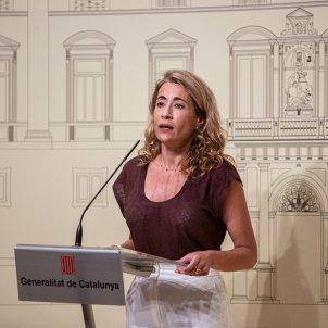 Raquel Sánchez Gava reunión aeropuerto - Montse Giralt