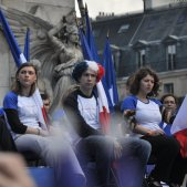 Meeting 1 mai 2012 Front National Paris (Blandine La Cain)