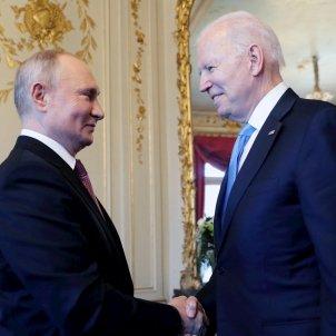 primera reunión Putin Biden / Efe