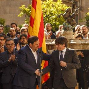 Junqueras Puigdemont Referendum Generalitat - Sergi Alcàzar