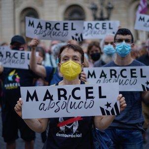 Concentración Barcelona libertad absolucion Marcel Vivet / Pau de la Calle