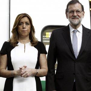 Rajoy aniversari AVE EFE