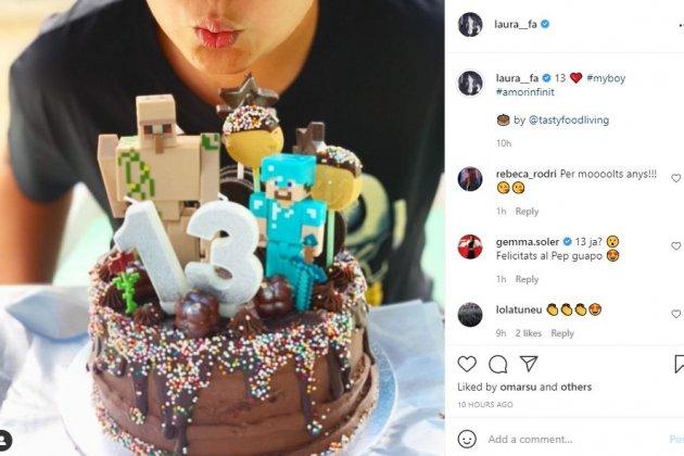 Perfil d'Instagram de Laura Fa