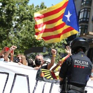 Protestes Liceu, Pedro Sánchez, protestes dels manifestants   Montse Giralt