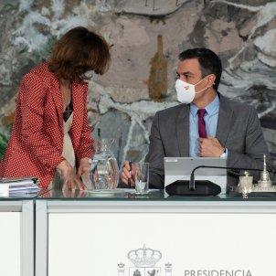 Pedro Sánchez Carmen Calvo indultos Efe