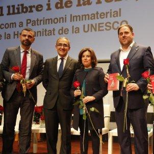 SANTI VILA ACTE SANT JORDI UNESCO   SERGI ALCÀZAR