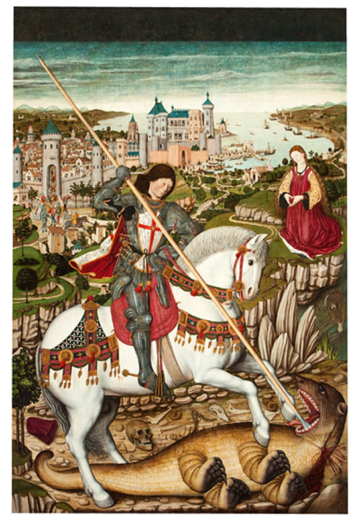 Retaule de Sant Jordi. Museu Diocesà de Mallorca