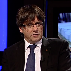 Puigdemont entrevista Punt Avui