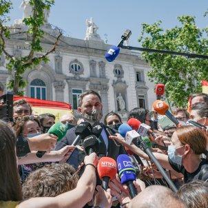 EuropaPress  presidente vox santiago abascal periodistas