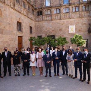 Presos i Govern patio Generalitat /  Sergi Alcàzar
