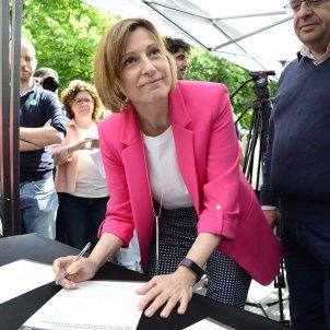 Carme Forcadell Pacte Referèndum- EFE