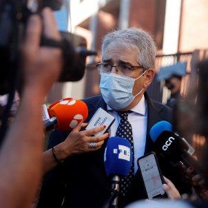Francesc Homs al Tribunal de Comptes