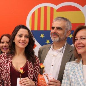 Arrimadas i cúpula Ciutadans Catalunya Sant Jordi 2017   ACN