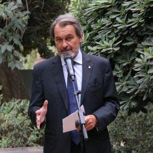 L'expresident del Govern de la Generalitat Artur Mas, al Palau Robert   ACN