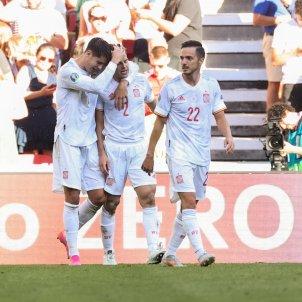 Espana gol celebracion EFE