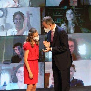 Acto monarquia barcelona Premios Princesa Girona Leonor Rey Felipe / Sergi Alcàzar