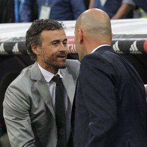 Luis Enrique Zidane EFE