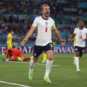 Kane celebra gol inglaterra eurocopa efe