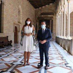 Borràs Aragonès Palau Generalitat / ACN