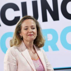 Nadia Calviño vicepresidenta ministra economia españa - Efe