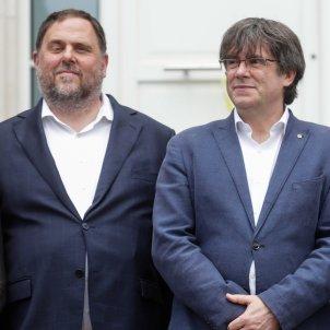 Carles Puigdemont Oriol Junqueras Waterloo Casa de la República / EFE