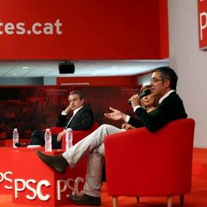 Zapatero Madina - EFE
