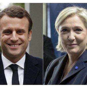 Le Pen - Macron - EFE