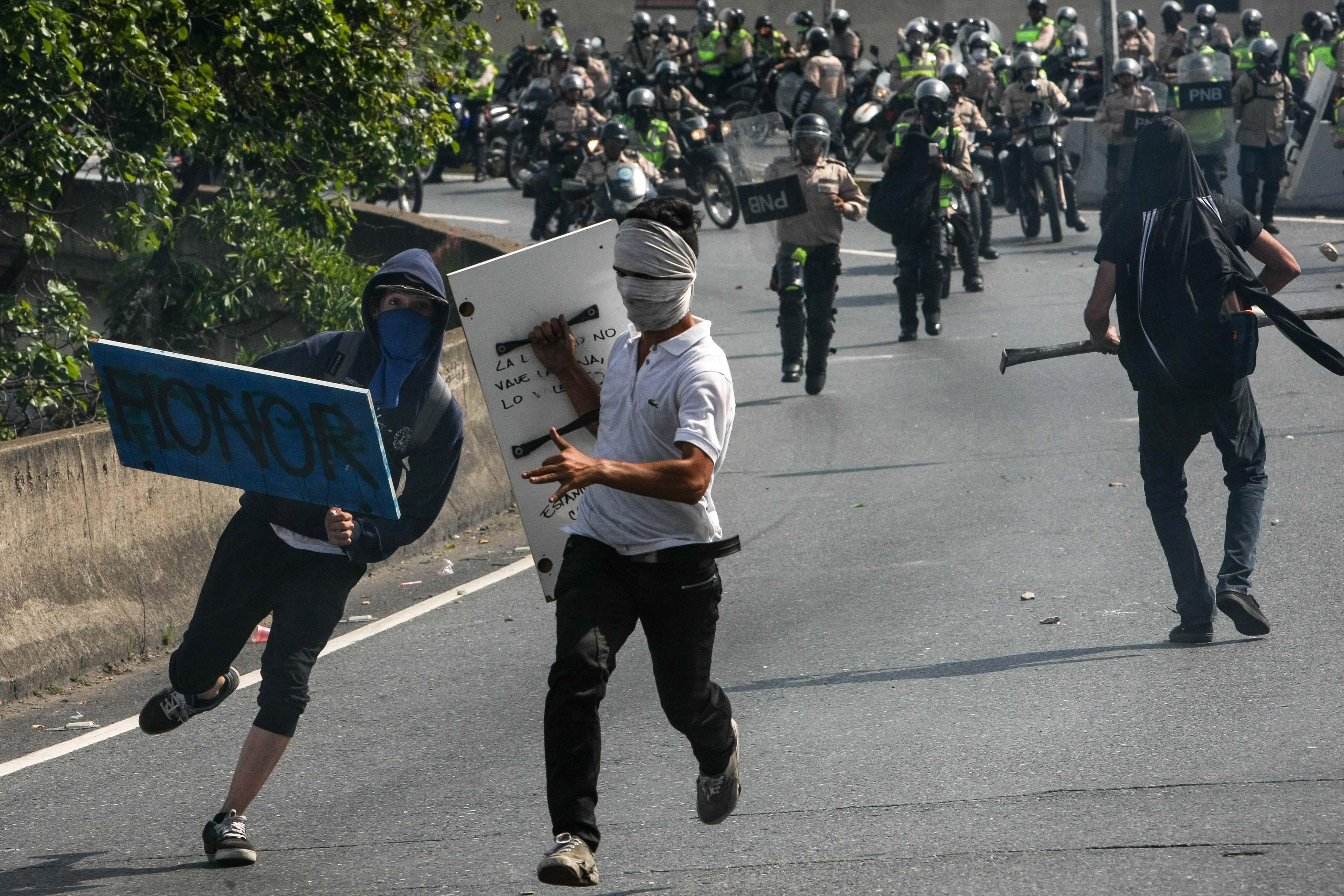 venezuela protestes maduro EFE